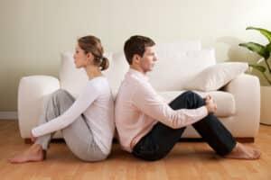 Eine Bedarfsgemeinschaft können Sie auflösen, wenn Sie sich z. B. von Ihrem Partner trennen.