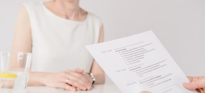 Um ins Vorstellungsgespräch eingeladen zu werden, brauchen Sie eine aussagekräftige Bewerbung.