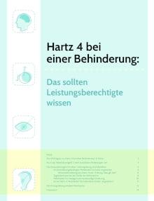 eBook Hartz 4 mit Behinderung