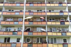 Der Bestand an Sozialwohnungen ist um 3,5 Prozent zurückgegangen.