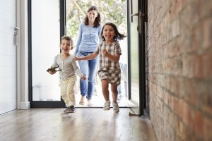 Anspruch auf Wohngeld? Die Höhe hängt auch von der Größe des Haushaltes ab.